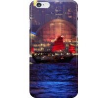 Victoria Harbour, Hong Kong iPhone Case/Skin