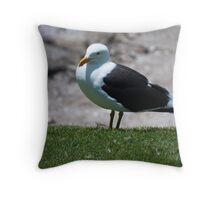 Tourist! Throw Pillow