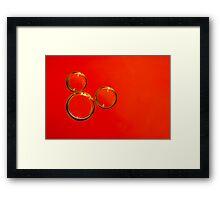 Eh Mickey! Framed Print
