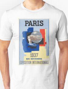 Vintage poster - Paris T-Shirt