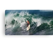 The Art Of Surfing In Hawaii 13 Canvas Print