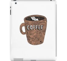 COFFEE MUG CLIPART iPad Case/Skin