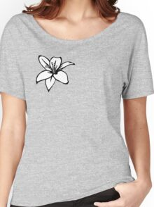 White Lily Women's Relaxed Fit T-Shirt
