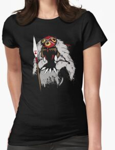 Princess of the Forest Womens Fitted T-Shirt