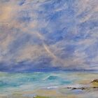Sea moods by Linda Ridpath