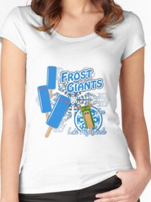 Tasty Frost Giants Women's Fitted Scoop T-Shirt