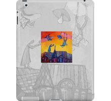 Angel in the sky iPad Case/Skin