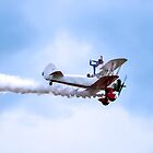 Southport Air show - Wingwalker by Paul Madden