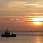 Sunset on the Isle of Arran  by Lilian Marshall