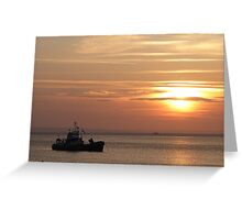 Sunset on the Isle of Arran  Greeting Card