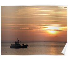 Sunset on the Isle of Arran  Poster