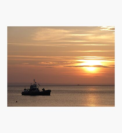 Sunset on the Isle of Arran  Photographic Print