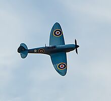 Supermarine Spitfire at the 2012 Southport air show by Paul Madden