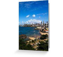 Beach in Salvador / Brazil [ iPad / iPod / iPhone Case ] Greeting Card