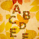 Autumn alphabet by rafo