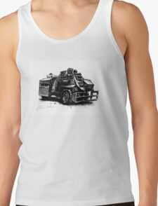 Saxon Armoured Personnel Carrier Tank Top
