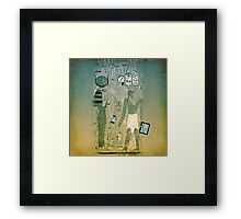 Wireless ancient Egypt Framed Print