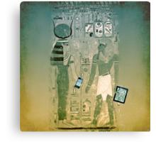 Wireless ancient Egypt Canvas Print