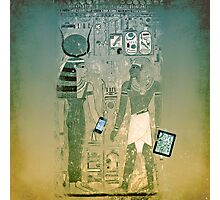 Wireless ancient Egypt Photographic Print