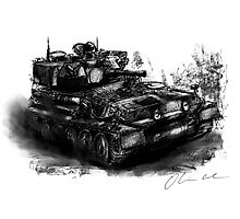 Scorpion Light Tank CVRt Photographic Print