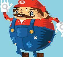 Super Mario Fan Art by jaffrywardjr