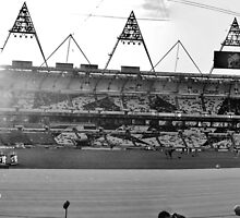 London Olympic Stadium 2012 #1 by Matthew Floyd