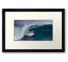 The Art Of Surfing In Hawaii 14 Framed Print