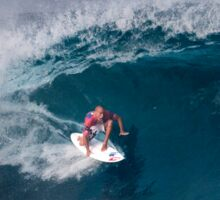 The Art Of Surfing In Hawaii 14 Sticker