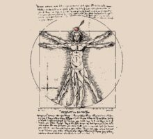 Vitruvian Man - So close! by SpatArt