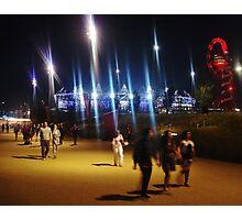 Stadium Lights #1 Photographic Print