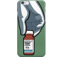 The Private Life Of A Superhero Prozac iPhone Case/Skin