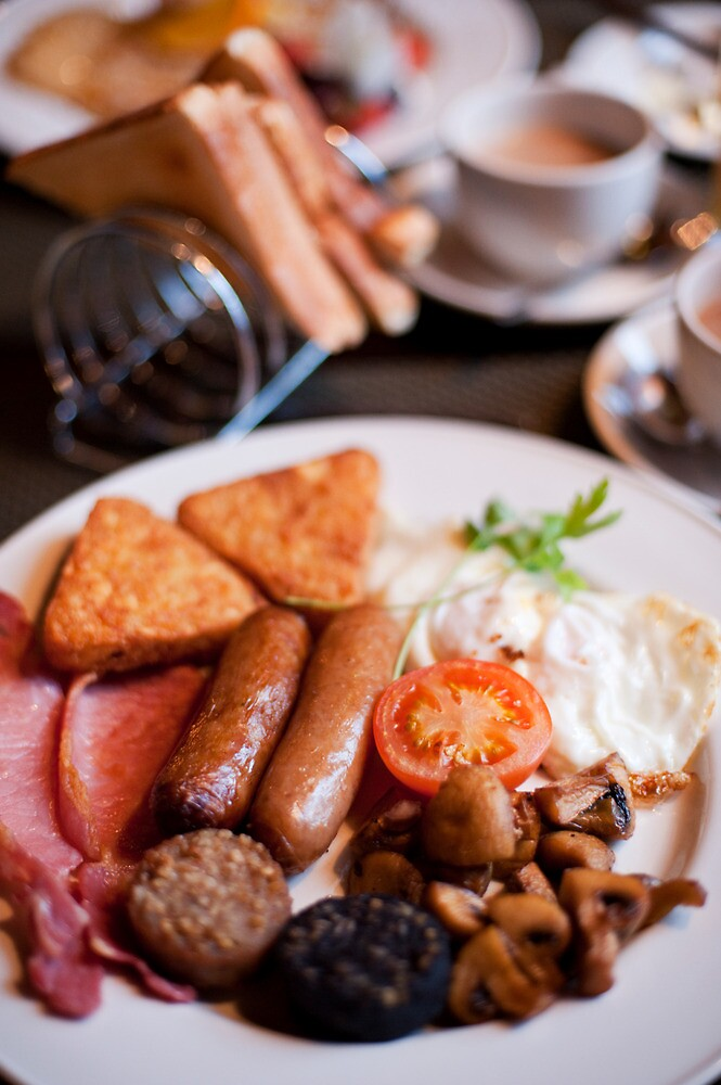 Irish Breakfast by Skye Hohmann