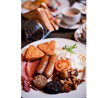 Irish Breakfast Photographic Print