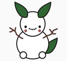 Snowman Pikachu Pokemon Card Kids Clothes