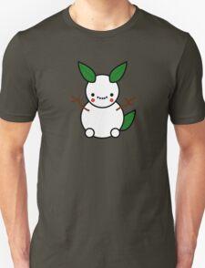 Snowman Pikachu Pokemon Card Unisex T-Shirt