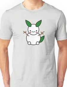 Snowman Pikachu Pokemon Card Unisex T-Shirt
