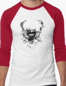 Tokyo Ghoul - The Eyepatch Ghoul (Black Version) Men's Baseball ¾ T-Shirt