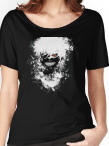 Tokyo Ghoul - The Eyepatch Ghoul (Black Version) Women's Relaxed Fit T-Shirt