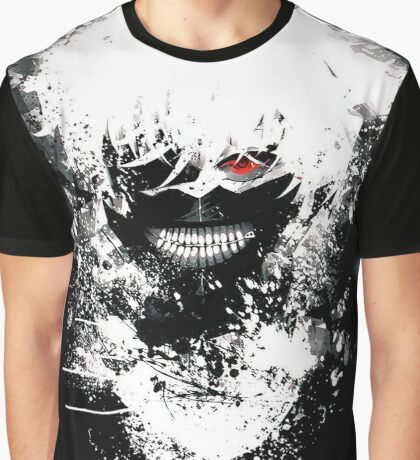 Tokyo Ghoul - The Eyepatch Ghoul (Black Version) Graphic T-Shirt
