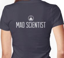 Mad Scientist Women's Fitted V-Neck T-Shirt