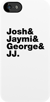 Josh & Jaymi & George & JJ (black writing) by Tom Clancy