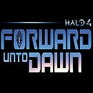 Halo 4 Forward Unto Dawn Title Case by halljl
