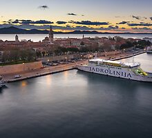 Zadar from th top  by Ivan Coric