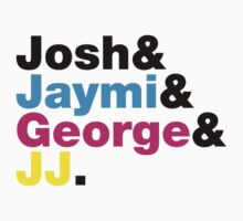 Josh & Jaymi & George & JJ (colour & black) by Tom Clancy