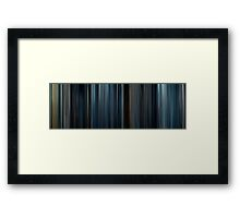 Moviebarcode: The Expendables 2 (2012) Framed Print
