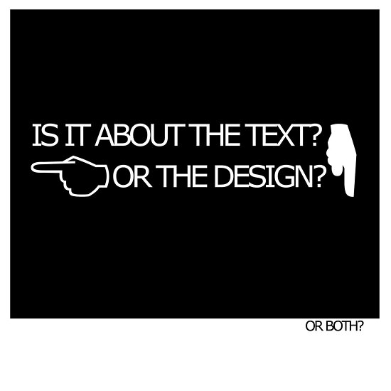 Typography design 5 by Anthony Faulkner