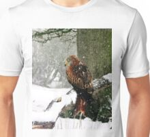Red Kite in snow Unisex T-Shirt