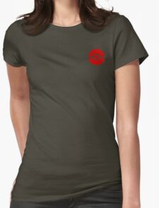 Subtle pokeball pokemon logo red - no words Womens Fitted T-Shirt