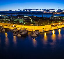Zadar from th top - panorama by Ivan Coric