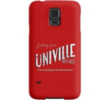 Greetings from Univille Samsung Galaxy Case/Skin